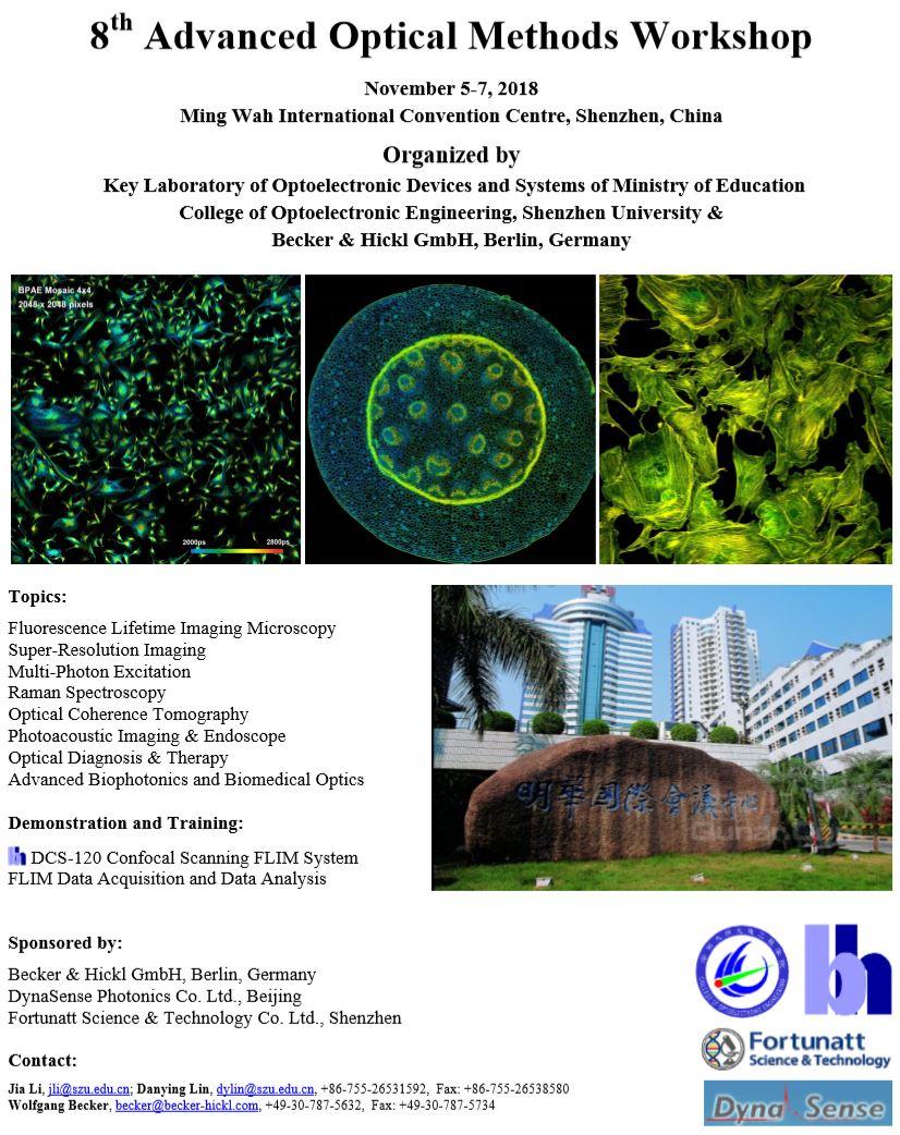 第八届光学方法高级研讨会